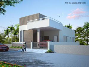 Affordable flats and villas in gated communities by top builder in