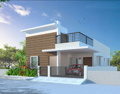 Affordable flats and independent villas by modi properties for Villa interior design in hyderabad